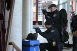 College's first lockdown drill a team effort