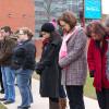 Peace garden memorial to Montreal massacre victims