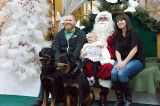 Paws with Claus – Pet pictures with Santa at Oakville Place