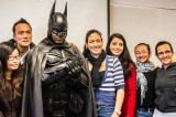 Brampton's Dark Knight delivers strong message, big smile, to Davis Campus