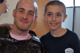 Peel cops cuff cancer  at HMC shave-off