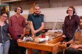 Furniture students build across continents with Finnish furniture maker Nikari
