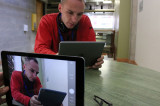 iPad replaces text books in Media Fundamentals