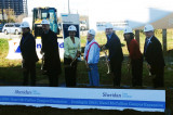 Breaking ground at Sheridan's HMC2