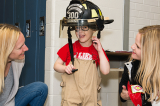 Young firefighter hopeful helps raise funds for SickKids