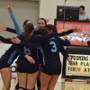 Bruins volleyball teams fall in quarter-finals