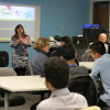 Alumni return to mentor Finance students
