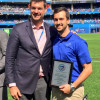 Live: Blue Jays salute Sheridan Athletic Therapy student