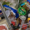 Student grocery shopping all about planning ahead