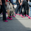 Rising in heels for violence awareness