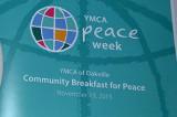 Terrorist's son advocates peace at community breakfast