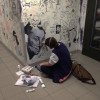 Students battle over space at the Sheridan Art Wall