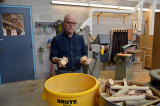 Furniture studio changes waste to fuel
