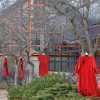 Red dresses honour missing and murdered aboriginal women