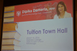 MPP educates community at Tuition Town Hall