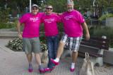 Oakville men walk in heels to end violence against women