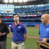 Blue Jays tip their caps to Athletic Therapy students