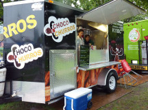 Chocco Churos is originally from NY, and took to the street  in Toronto specializing in Latin American pastries.