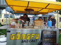 Gongfu Bao Cart opened one year ago perfecting dumplings of all kinds.