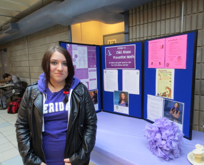 Cynthia Morrison, CYW student, is dedicated to helping children by raising money