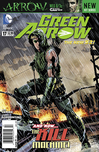 The issue of Green Arrow that Lemire wrote.