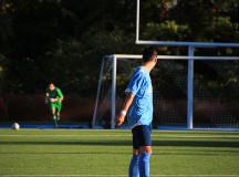 Patryk Zaptoczny making a goal kick