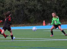 Samantha Macchione goal scoring play