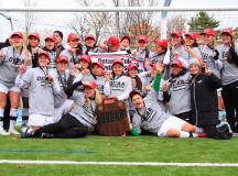OCAA women's soccer champions - Algonquin Thunder