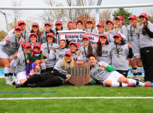 OCAA women's soccer champions Algonquin Thunder