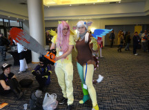 Kim Uarrisaw as Discord & Keenan Tamblyn as a fan version of Fluttershy