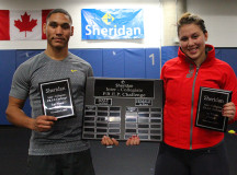 Brodie Allen and Shanice Szmidt - first place male and female