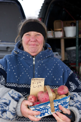 Ann Brown from the Plant Lady has been vending at the Oakville Civitan Club's farmers' market for 12 years.