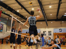 Matt Bandy setting up to punch in a kill