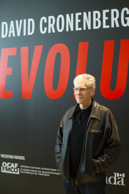 David Cronenberg at the TIFF Bell Lightbox