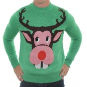 One of the many ugly Christmas sweaters offered at RetroFestive.