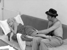 Brigitte Bargot and Michel Piccoli in Contempt (1963)