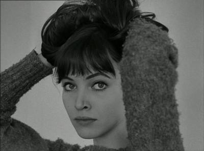 Anna Karina in Le Petit Soldat.