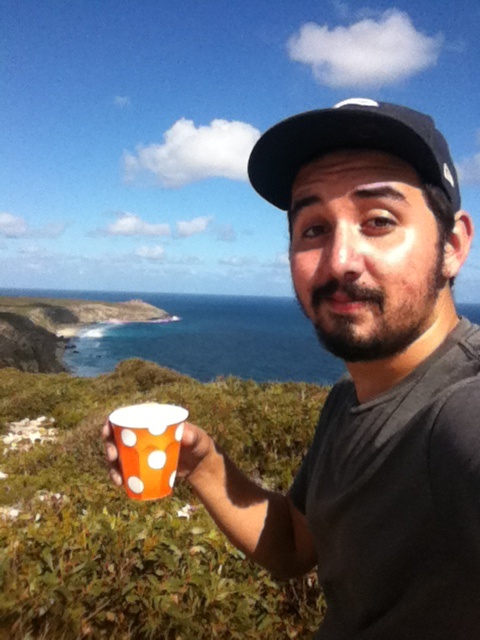 Vincent Vaughan Hagen, 22, went backpacking on Kangaroo Island, Australia, during his four-month stay in 2012.
