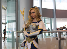 League of Legends character Lux brightens the day.