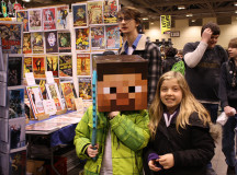 Minecraft fans of all ages were abound at Comic-con.