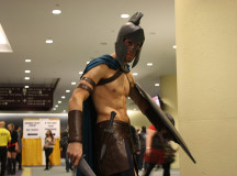With the new 300 movie just around the corner, Spartans were sure to be present at Comic-con.