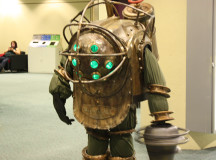 A shocking costume from Raptures Big Daddy