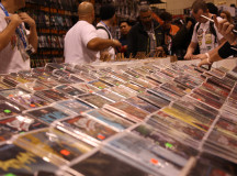 Comics lined the isles at the convention, Marvel or DC, you name it they have it.
