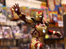 Toy Ironman is ready for action