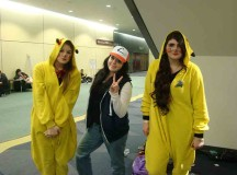 Lauren Kennedy as Pikachu, Rachel Kowalyshen as Ash Ketchum and Bryelei McDonugh  as Pikachu