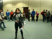 ALI as Katniss