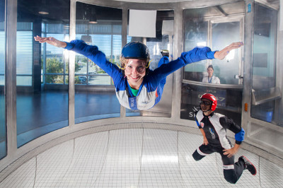 iFly provides a 30-minute training class with instructors to show potential fliers how to be safe.