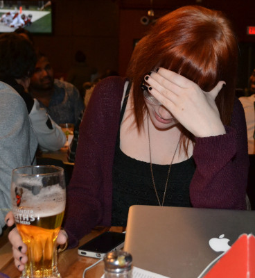 Students who over-consume alcohol can wake up feeling horrible