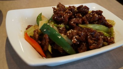 Crispy sichuan beef is the perfect entree dish to try at Celadon House.
