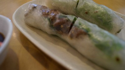 Barbecue pork cold rice rolls are a nice appetizer to start your meal at Pho Mi 89.